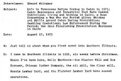 Allen Davis Interview Page 1
