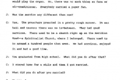 Blanche Cauhorn Interview Page 11