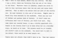 Blanche Cauhorn Interview Page 9