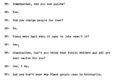 Gladys McCutcheon Interview Page 5