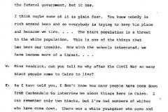 Hattie B. Kendrick Interview Page 20