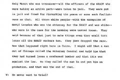 Hattie B. Kendrick Interview Page 9