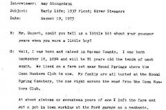 Herbert Goyert Interview Page 1