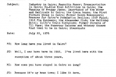 John Clarke and C.W. Halliday Interview Page 1