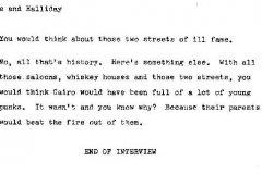 John Clarke and C.W. Halliday Interview Page 18