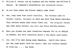 Lucy M. Parker Interview Page 2