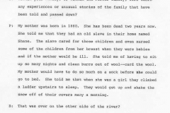 Lucy M. Parker Interview Page 5
