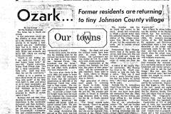 Ozark, Illinois Newspaper Article Page 6