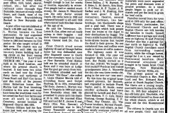 Ozark, Illinois Newspaper Article Page 1