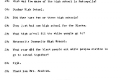 Ozie Meadows Interview Page 11