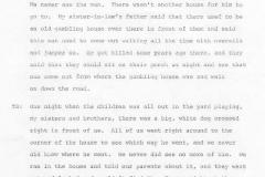Tennie Buckley and Mollie Bradley Interview Page 11