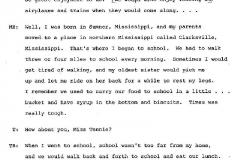 Tennie Buckley and Mollie Bradley Interview Page 2