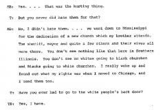Tennie Buckley and Mollie Bradley Interview Page 20