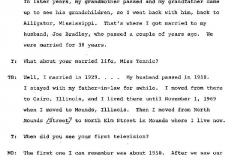 Tennie Buckley and Mollie Bradley Interview Page 4