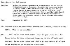 Zada Wade Beadles Interview Page 1