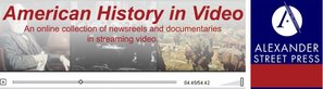American History in Video Logo