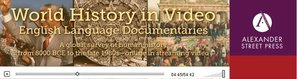 World History in Video Logo