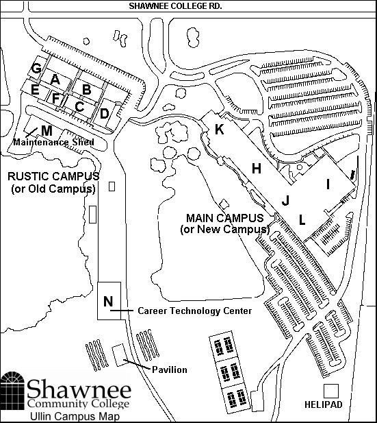 SCC campus map