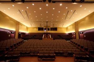 SCC Educational Center, center stage