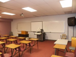 Typical SCC Campus Classroom, Room J2052