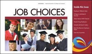 Job Choices Cover 1